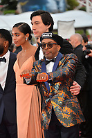 Spike Lee, Adam Driver &amp; Laura Harrier at the gala screening for &quot;BLACKKKLANSMAN&quot; at the 71st Festival de Cannes, Cannes, France 14 May 2018<br /> Picture: Paul Smith/Featureflash/SilverHub 0208 004 5359 sales@silverhubmedia.com
