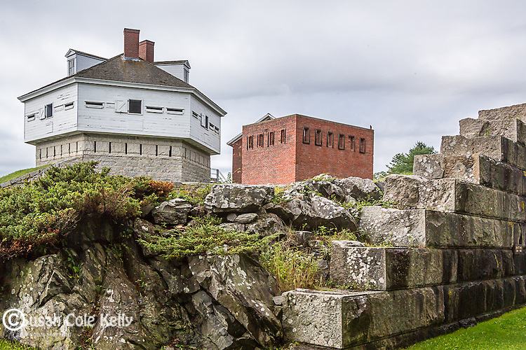 Fort McClary in Kittery, Maine, USA