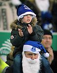 Everton fans<br /> - Barclays Premier League - Everton vs Leicester City - Goodison Park - Liverpool - England - 19th December 2015 - Pic Robin Parker/Sportimage