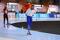 SPEEDSKATING: ERFURT: 18-01-2018, SportNavigator, Mika Poutala (FIN), photo: Martin de Jong
