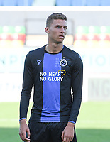 20191022 – OOSTENDE , BELGIUM : Brugge's Ignace Van Der Brempt pictured during a soccer game between Club Brugge KV and Paris Saint-Germain ( PSG )  on the third matchday of the UEFA Youth League – Champions League season 2019-2020 , thuesday  22 th October 2019 at the Versluys Arena in Oostende  , Belgium  .  PHOTO SPORTPIX.BE | DAVID CATRY