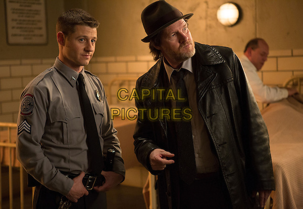 Ben McKenzie, Donal Logue<br /> in Gotham (2014&ndash; ) <br /> (Season 1)<br /> *Filmstill - Editorial Use Only*<br /> CAP/FB<br /> Image supplied by Capital Pictures