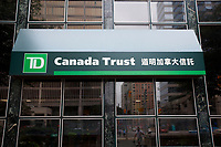 Toronto (ON) CANADA - July 2012 - TD (Canada Trust) in Toronto Chinatown