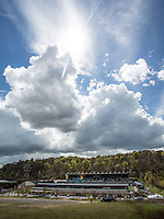 General view of Adams Park prior to the Sky Bet League 2 match between Wycombe Wanderers and Accrington Stanley at Adams Park, High Wycombe, England on the 30th April 2016. Photo by Liam McAvoy / PRiME Media Images.