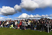 30th September 2017, Windross Farm, Auckland, New Zealand; LPGA McKayson NZ Womens Open, third round;  General view of fans and supporters on the 18th green
