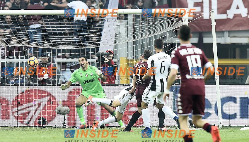 gol Andrea Belotti Torino Goal celebration <br /> Torino 11-12-2016 Stadio Olimpico Grande Torino Football Calcio Serie A 2016/2017 Torino - Juventus foto Image Sport/Insidefoto
