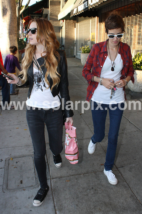 **ALL ROUND PICTURES FROM SOLARPIX.COM**.**WORLDWIDE SYNDICATION RIGHTS**.**NO PUBLICATION IN AUSTRALIA, NEW ZEALAND, DENMARK, GERMANY OR USA**.Lindsay Lohan and Samantha Ronson spend some quality time together shopping for makeup and other cosmetic items. Hollywood, California, USA. 21st September 2008..JOB REF: 7425 LAP(HD)       DATE: 21_09_2008.**MUST CREDIT SOLARPIX.COM OR DOUBLE FEE WILL BE CHARGED* *UNDER NO CIRCUMSTANCES IS THIS IMAGE TO BE REPRODUCED FOR ANY ONLINE EDITION WITHOUT PRIOR PERMISSION*