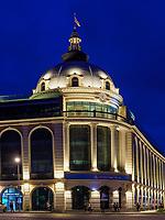 Bank am Davit Aghmashenebeli - Platz, Kutaisi, Imeretien - Imereti;, Georgien, Europa<br /> Bank <br /> Bank at Davit Aghmashenebeli -Square, Kutaisi,  Inereti,  Georgia, Europe