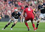 Blair Cowan of Scotland in action - RBS 6Nations 2015 - Scotland  vs Wales - BT Murrayfield Stadium - Edinburgh - Scotland - 15th February 2015 - Picture Simon Bellis/Sportimage