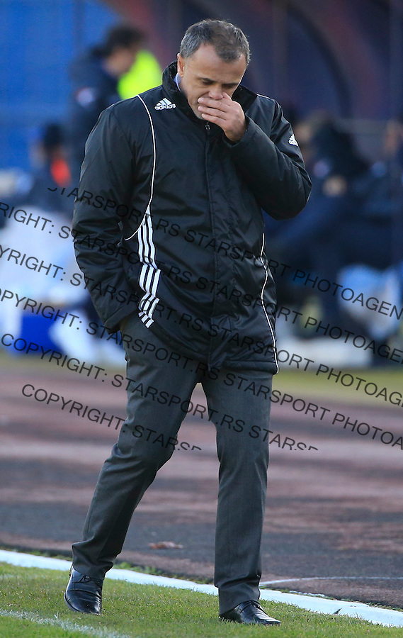 Fudbal Jelen Super League season 2015-2016<br /> Spartak v Partizan<br /> head coach Ljubinko Drulovic<br /> Subotica, 29.11.2015.<br /> foto: Srdjan Stevanovic/Starsportphoto&copy;