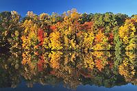 Autumn Landscape, Strawbridge Lake, Moorestown, New Jersey