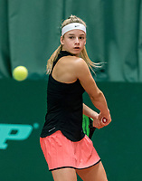 Wateringen, The Netherlands, March 16, 2018,  De Rhijenhof , NOJK 14/18 years, Nat. Junior Tennis Champ.  Anouck Vrancken Peeters (NED)<br />  Photo: www.tennisimages.com/Henk Koster
