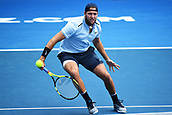 10th January 2018, ASB Tennis Centre, Auckland, New Zealand; ASB Classic, ATP Mens Tennis;  Jack Sock (USA) during the ASB Classic ATP Men's Tournament Day 3