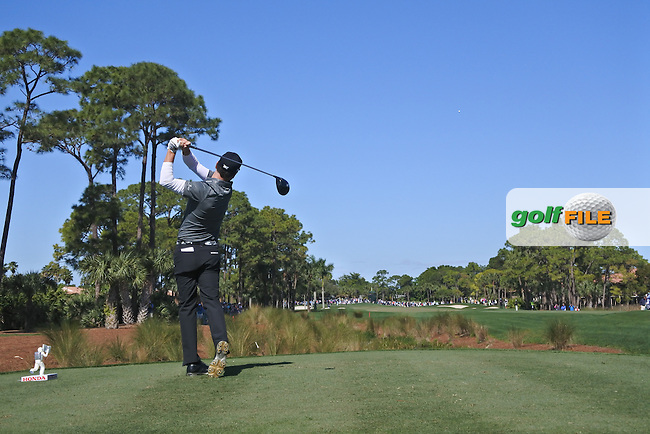 Zach Johnson (USA) on the 2nd during round 2 of the Honda Classic, PGA National, Palm Beach Gardens, West Palm Beach, Florida, USA. 26/02/2016.<br /> Picture: Golffile | Fran Caffrey<br /> <br /> <br /> All photo usage must carry mandatory copyright credit (&copy; Golffile | Fran Caffrey)