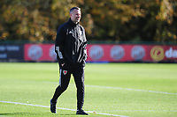 Pictured: Ryan Giggs Manager of Wales during the Wales Training Session at The Vale Resort in Cardiff, Wales, UK. Monday 11 November 2019