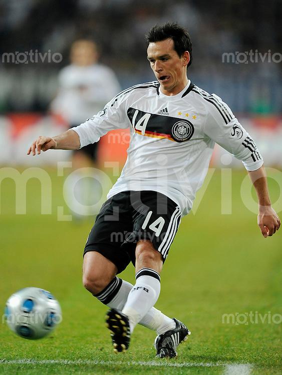 Fussball International 2008/2009 11.02.2009 Freundschaftsspiel Deutschland - Norwegen Piotr TROCHOWSKI (GER).