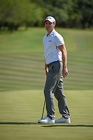 Martin Kaymer (GER) watches his putt on 9 during Round 1 of the Valero Texas Open, AT&amp;T Oaks Course, TPC San Antonio, San Antonio, Texas, USA. 4/19/2018.<br /> Picture: Golffile | Ken Murray<br /> <br /> <br /> All photo usage must carry mandatory copyright credit (&copy; Golffile | Ken Murray)