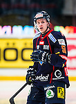 Stockholm 2014-02-24 Ishockey Hockeyallsvenskan Djurg&aring;rdens IF - S&ouml;dert&auml;lje SK :  <br /> Djurg&aring;rdens David Lidstr&ouml;m <br /> (Foto: Kenta J&ouml;nsson) Nyckelord:  portr&auml;tt portrait