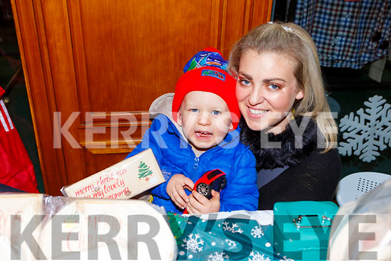 Aisling and Cody Langham at the Christmas fair in Killarney Outlet Centre on Sunday