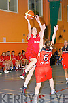Denise Dunlea Team Tom McCarthy's goes past Ciara fenton Killester during their clash in Castleisland on Saturday night