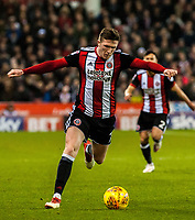 Sheffield United's midfielder John Lundstram (7) during the Sky Bet Championship match between Sheff United and Queens Park Rangers at Bramall Lane, Sheffield, England on 20 February 2018. Photo by Stephen Buckley / PRiME Media Images.
