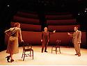 Copenhagen by Michael Frayn,directed by Michael Blakemore. With David Burke[older],Mathew Marsh,Sarah Kestelman. Performed at the National Theatre. CREDIT Geraint Lewis