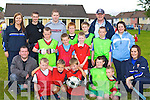 The finalists of the u11 league at the Garda/KDYS soccer league in Ballyspillane on Thursday evening front row l-r: Sean Boyne, Dylan Leane, Ryan Brosnan, Shane O'Donoghue, Brian Harrington. Middle row: Ken O'Neill KDYS, Conor Harrington, Blake O'Brien, John  Quilligan, John Harrington, Isobel Hannan (Student Garda). Back row: Ann Marie O'Shea (Student Garda), Damien Jermyn, Conor Farrell, Darragh O'Doherty, David Moynihan, Sargent Tom Tobin and Niamh Casey KDYS   Copyright Kerry's Eye 2008