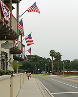 St. Augustine, FL June 27th:  Saturday June 27th, marks the first day of the St. Augustine City Council's mandate for face coverings indoors and places where social distancing isn't possible.  St. Augustine, Florida June 27th, 2020 Credit: Edward Kerns II/MediaPunch<br /> CAP/MPI/EK2<br /> ©EK2/MPI/Capital Pictures