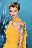 HOLLYWOOD, CA - AUGUST 06: Ruby Rose attends the premiere of Warner Bros. Pictures and Gravity Pictures' Premiere of 'The Meg' at the TLC Chinese Theatre on August 06, 2018 in Hollywood, California.<br /> CAP/ROT/TM<br /> &copy;TM/ROT/Capital Pictures