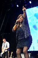 JUL 15 Jaki Graham performing at Let's Rock London Retro Festival