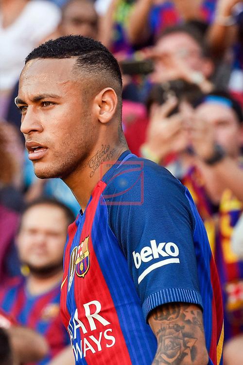 League Santander 2016/2017. Game: 8.<br /> FC Barcelona vs Deportivo: 4-0.<br /> Neymar Jr.