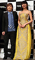 """May 31, 2016, Tokyo, Japan - Casts of Amazon Japan's documentary drama """"Invisible Tokyo"""" music composer Tetsuya Komuro (L) and actress Elaiza Ikeda pose for photo at a promotional event for Amazon Prime Video in Tokyo on Tuesday, May 31, 2016. Amazon Japan announced they would increase original contents for Amazon' video distribution service in Japan.      (Photo by Yoshio Tsunoda/AFLO)"""