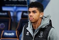 Lincoln City's Tyreece John-Jules on arrival at the ground<br /> <br /> Photographer Andrew Vaughan/CameraSport<br /> <br /> The EFL Sky Bet League One - Shrewsbury Town v Lincoln City - Saturday 11th January 2020 - New Meadow - Shrewsbury<br /> <br /> World Copyright © 2020 CameraSport. All rights reserved. 43 Linden Ave. Countesthorpe. Leicester. England. LE8 5PG - Tel: +44 (0) 116 277 4147 - admin@camerasport.com - www.camerasport.com