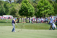 Phil Mickelson (USA) hits his approach shot on 2 during round 2 of the Shell Houston Open, Golf Club of Houston, Houston, Texas, USA. 3/31/2017.<br /> Picture: Golffile | Ken Murray<br /> <br /> <br /> All photo usage must carry mandatory copyright credit (&copy; Golffile | Ken Murray)