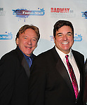Ken Lundie and Dale Badway - Broadway - 2017 New Year's Eve Times Square Ball Drop at the Copacabana, New York City, New York with Dale Badway and the Stars of Broadway. (Photo by Sue Coflin/Max Photos)  suemax13@optonline.net