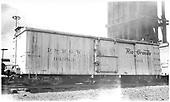 Tool car 04983 at Salida.<br /> D&amp;RGW  Salida, CO  Taken by Ward, Bert H. - 7/8/1946