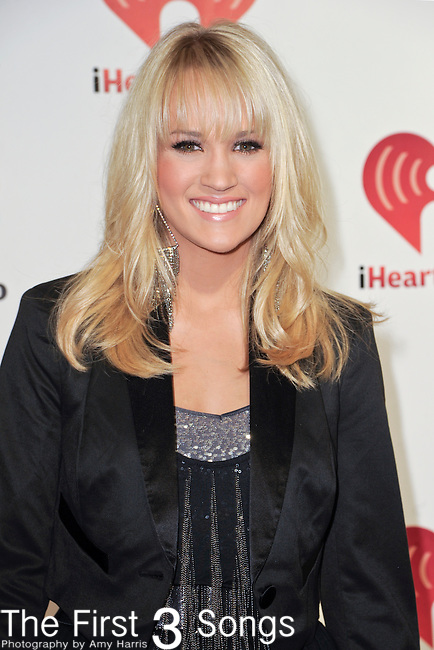 Carrie Underwood attends the 2011 iHeartRadio Music Festival on September 23, 2011 at the MGM Garden Arena in Las Vegas, Nevada.
