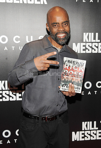 New York, NY- October 9: Ric Ross attends the  'Kill the Messenger' New York Premiere at the Museum of Modern Art on October 9, 2014 in New York City. Credit: John Palmer/MediaPunch
