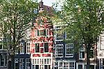 Grachtenhäuser an der Herengracht Ecke Wijde Heisteeg, Amsterdam
