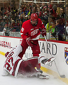 Viktor Dombrovskiy (Harvard - 27), Matt Buckles (Cornell - 16) - The Harvard University Crimson defeated the visiting Cornell University Big Red on Saturday, November 5, 2016, at the Bright-Landry Hockey Center in Boston, Massachusetts.