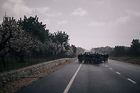 dark clouds over Mallorca (&amp; the peloton)<br /> <br /> Trofeo Lloseta - Andratx: 140km<br /> 27th Challenge Ciclista Mallorca