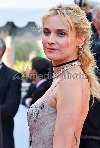 23 May 2017 - Cannes, France - Diane Kruger. 70th Anniversary Cannes Red Carpet Arrivals during the 70th Cannes Film Festival. Photo Credit: JanSauerwein/face to face/AdMedia