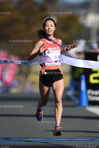 Miho Ihara (), <br /> OCTOBER 25, 2015 - Ekiden : The 1st All Japan Women's Industrial Ekiden Race Qualifier <br /> in Fukuoka, Japan. (Photo by AFLO SPORT)