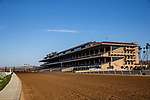 July 10, 2020: The grandstand sits empty on Opening Day at Del Mar Race Track in Del Mar, California on July 10, 2020. Alex Evers/Eclipse Sportswire/CSM