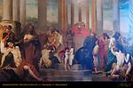 Allegorical Painting, Town Hall Stadhuis, Burg Square, Bruges, Brugge, Belgium