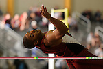 12 MAR 2016:  Thomas Coeval of the University of Oklahoma competes in the High Jump during the Heptathlon during the Division I Men's Indoor Track & Field Championship held at the Birmingham Crossplex in Birmingham, Al. Tom Ewart/NCAA Photos