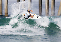 Nathan Yeomans. 2009 ASP WQS 6 Star US Open of Surfing in Huntington Beach, California on July 23, 2009. ..