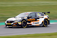 2019 British Touring Car Championship. Round 1. #25 Matt Neal. Halfords Yuasa Racing. Honda Civic Type R.