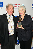 LOS ANGELES - JUN 11: Ted Abenheim, Betty Buckley at The Actors Fund's 21st Annual Tony Awards Viewing Party at the Skirball Cultural Center on June 11, 2017 in Los Angeles, CA