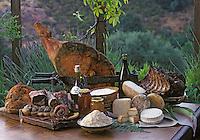 Europe/France/Corse/2A/Corse-du-Sud/Env d'Ajaccio: Charcuteries de montagne et fromage de brebis